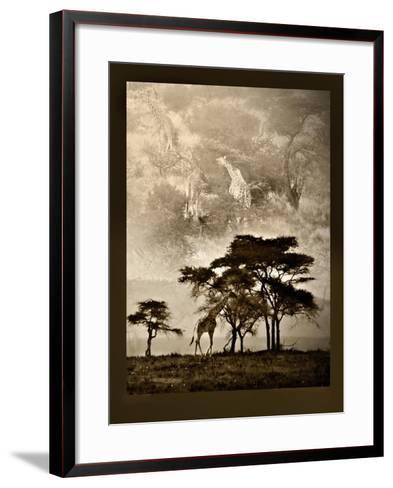 Tanzanian Landscape-Bobbie Goodrich-Framed Art Print