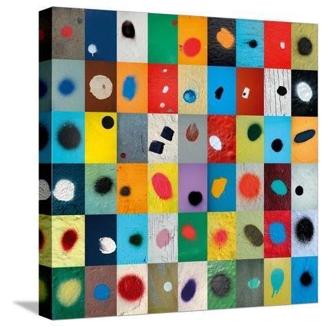 Dot-Sharon Elphick-Stretched Canvas Print