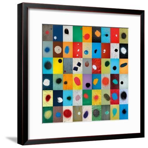 Dot-Sharon Elphick-Framed Art Print