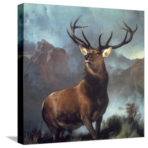Monarch of the Glen-Edwin Henry Landseer-Stretched Canvas Print