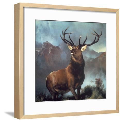 Monarch of the Glen-Edwin Henry Landseer-Framed Art Print