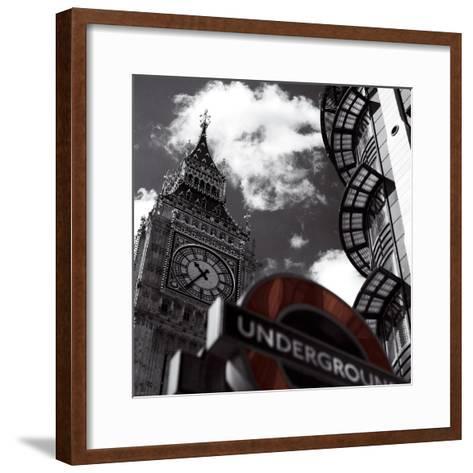 Underground-Jurek Nems-Framed Art Print