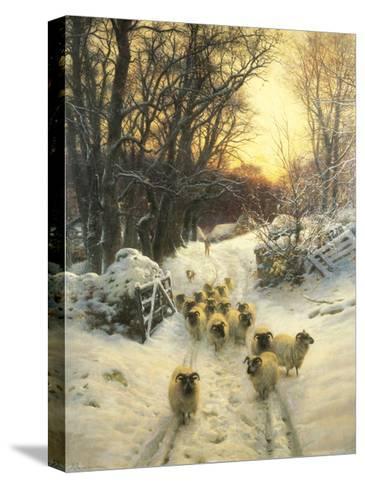 The Sun Had Closed-Joseph Farquharson-Stretched Canvas Print