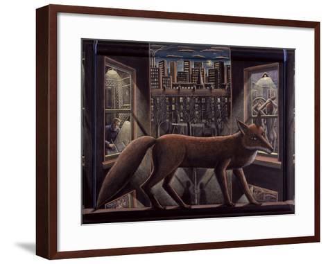 Fox, 2015-PJ Crook-Framed Art Print