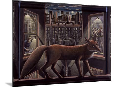 Fox, 2015-PJ Crook-Mounted Giclee Print