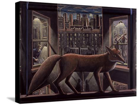 Fox, 2015-PJ Crook-Stretched Canvas Print