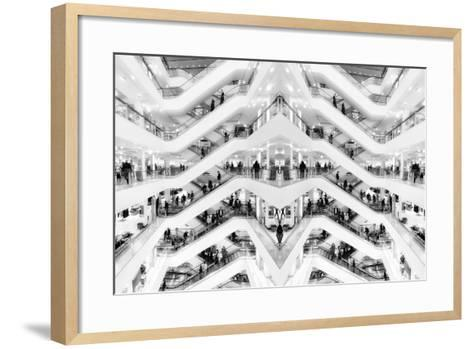 Department Store, 2014-Ant Smith-Framed Art Print