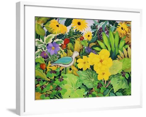 Autumn Garden-Christopher Ryland-Framed Art Print