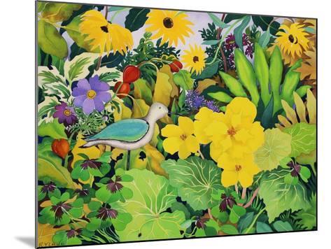 Autumn Garden-Christopher Ryland-Mounted Giclee Print