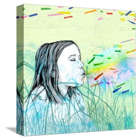 Summers Haze-Sara Netherway-Stretched Canvas Print