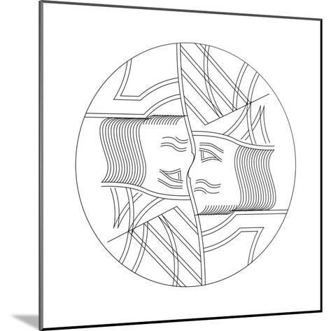 King, 2015-Francois Domain-Mounted Giclee Print
