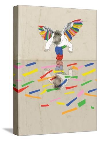 Freedom-Sara Netherway-Stretched Canvas Print