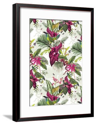 Nicaragua-Jacqueline Colley-Framed Art Print