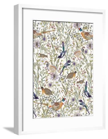 Woodland Edge Birds-Jacqueline Colley-Framed Art Print