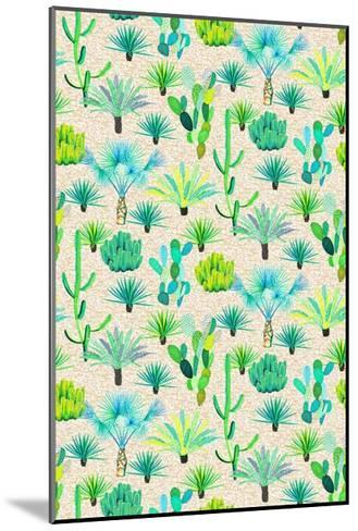 Les Jardins Majorelle - Cacti-Jacqueline Colley-Mounted Giclee Print