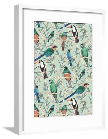 Menagerie-Jacqueline Colley-Framed Art Print