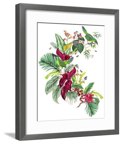Nicaragua Placement-Jacqueline Colley-Framed Art Print