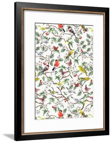 Hawthorn-Jacqueline Colley-Framed Art Print