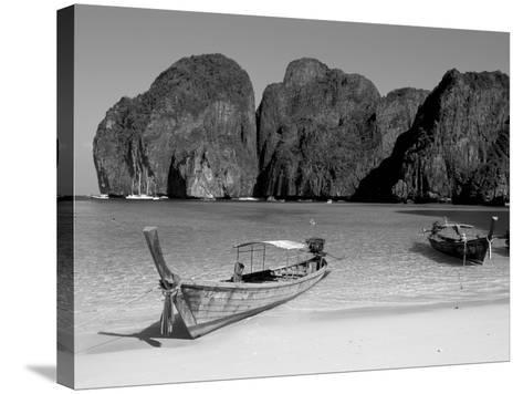 Ao Maya, Phi Phi Le, Ko Phi Phi, Krabi Province, Thailand, Southeast Asia-Bruno Morandi-Stretched Canvas Print
