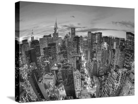 Chrysler Building and Midtown Manhattan Skyline, New York City, USA-Jon Arnold-Stretched Canvas Print