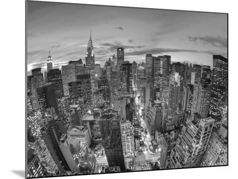 Chrysler Building and Midtown Manhattan Skyline, New York City, USA-Jon Arnold-Mounted Photographic Print