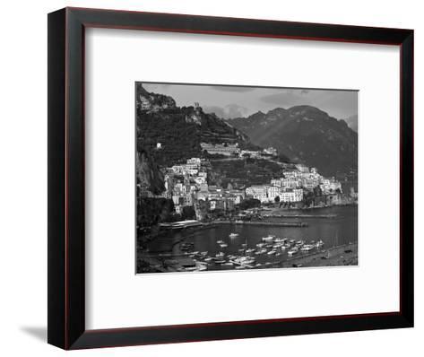 Amalfi, Amalfi Coast, Italy-Walter Bibikow-Framed Art Print