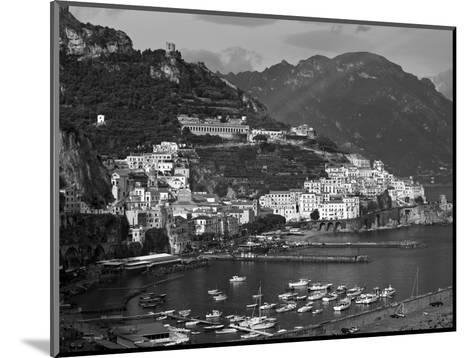 Amalfi, Amalfi Coast, Italy-Walter Bibikow-Mounted Photographic Print