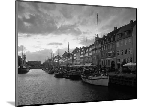 Nyhavn Harbour, Copenhagen, Denmark-Jon Arnold-Mounted Photographic Print