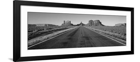 Road Monument Valley, Arizona, USA--Framed Art Print