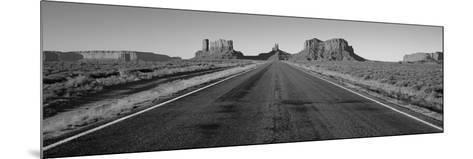 Road Monument Valley, Arizona, USA--Mounted Photographic Print
