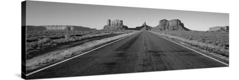 Road Monument Valley, Arizona, USA--Stretched Canvas Print