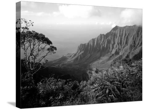 View Above the Na Pali Coast, Kauai, Hawaii, USA-Christopher Talbot Frank-Stretched Canvas Print