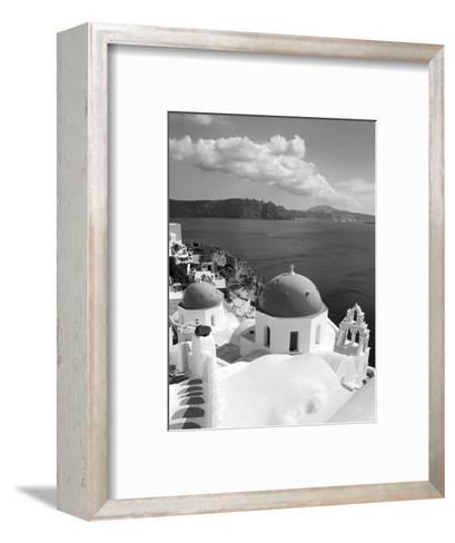 Greek Orthodox Church in Oia Village, Santorini Island, Cyclades, Greek Islands, Greece, Europe-Richard Cummins-Framed Art Print