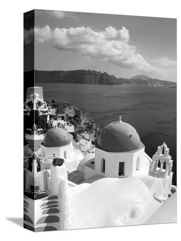 Greek Orthodox Church in Oia Village, Santorini Island, Cyclades, Greek Islands, Greece, Europe-Richard Cummins-Stretched Canvas Print