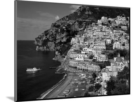 Amalfi Coast, Coastal View and Village, Positano, Campania, Italy-Steve Vidler-Mounted Photographic Print