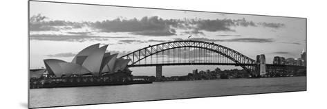 Opera House and Harbour Bridge, Sydney, New South Wales, Australia-Michele Falzone-Mounted Photographic Print