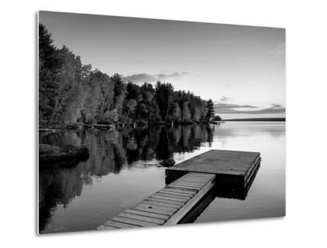 Maine, Baxter State Park, Lake Millinocket, USA-Alan Copson-Metal Print
