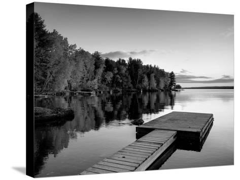 Maine, Baxter State Park, Lake Millinocket, USA-Alan Copson-Stretched Canvas Print