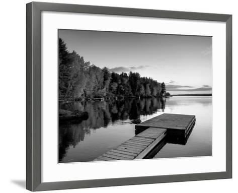 Maine, Baxter State Park, Lake Millinocket, USA-Alan Copson-Framed Art Print