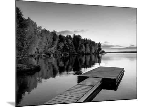 Maine, Baxter State Park, Lake Millinocket, USA-Alan Copson-Mounted Photographic Print
