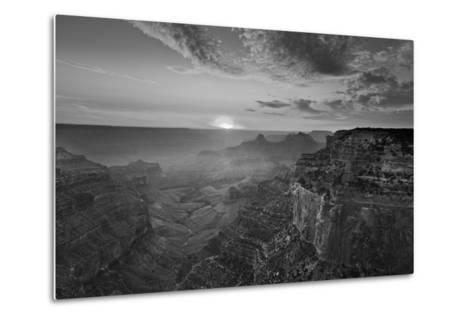 Cape Royal Viewpoint at Sunset, North Rim, Grand Canyon Nat'l Park, UNESCO Site, Arizona, USA-Neale Clark-Metal Print