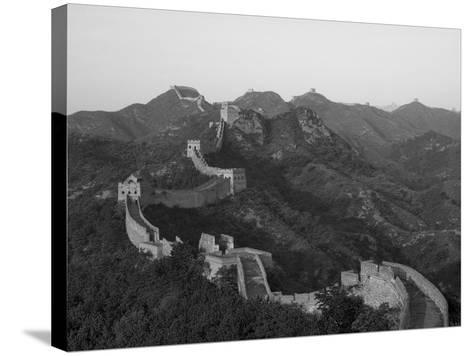 The Great Wall, Near Jing Hang Ling, Unesco World Heritage Site, Beijing, China-Adam Tall-Stretched Canvas Print