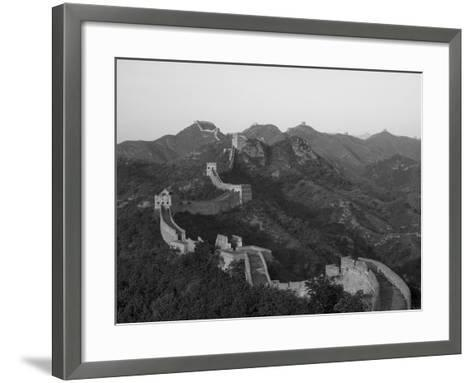 The Great Wall, Near Jing Hang Ling, Unesco World Heritage Site, Beijing, China-Adam Tall-Framed Art Print