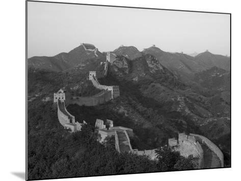 The Great Wall, Near Jing Hang Ling, Unesco World Heritage Site, Beijing, China-Adam Tall-Mounted Photographic Print