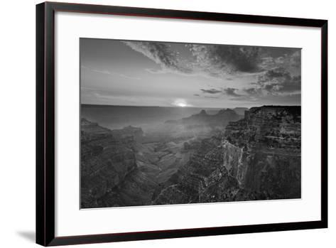 Cape Royal Viewpoint at Sunset, North Rim, Grand Canyon Nat'l Park, UNESCO Site, Arizona, USA-Neale Clark-Framed Art Print