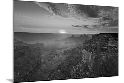 Cape Royal Viewpoint at Sunset, North Rim, Grand Canyon Nat'l Park, UNESCO Site, Arizona, USA-Neale Clark-Mounted Photographic Print