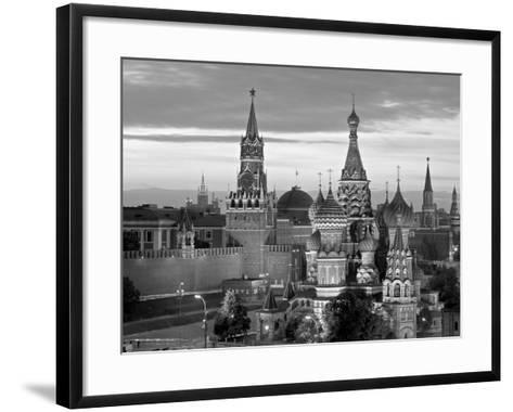 St. Basil's Cathedral, Red Square, Moscow, Russia-Jon Arnold-Framed Art Print