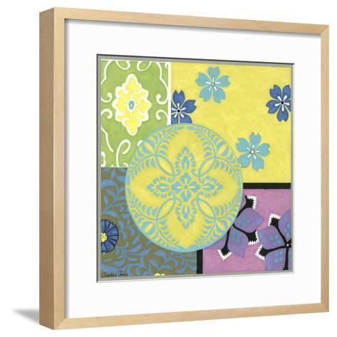 Blooming Medallion II-Chariklia Zarris-Framed Art Print