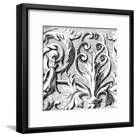 Sculptural Detail II-Vision Studio-Framed Art Print