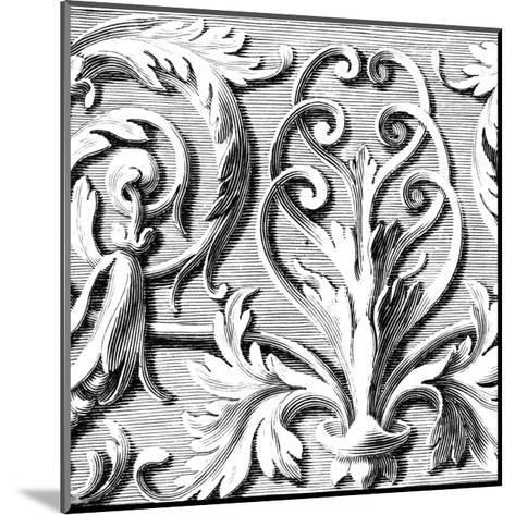 Sculptural Detail II-Vision Studio-Mounted Art Print